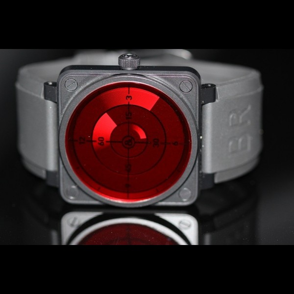BELL & ROSS BR01 RED RADAR