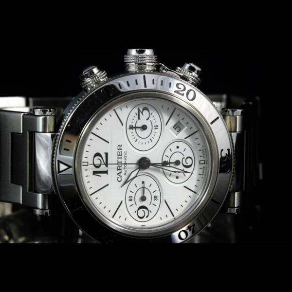 CARTIER PASHA CHRONO 42