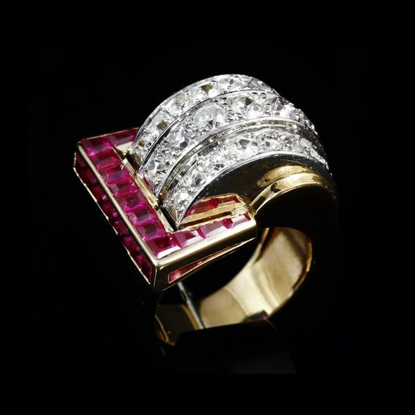 Bague chevali�re